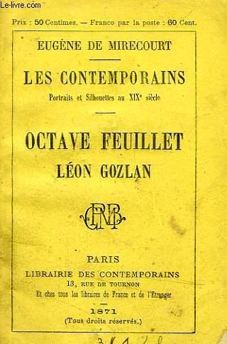 OCTAVE FEUILLET, LEON GOZLAN