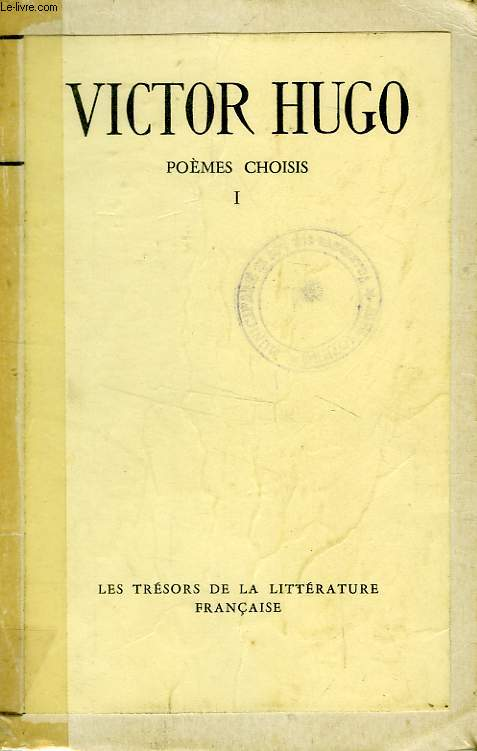 POEMES CHOISIS, 2 TOMES