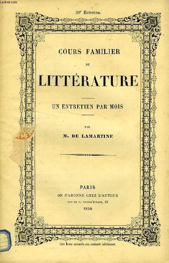 COURS FAMILIER DE LITTERATURE, XXXe ENTRETIEN, LA MUSIQUE DE MOZART (2e PARTIE)