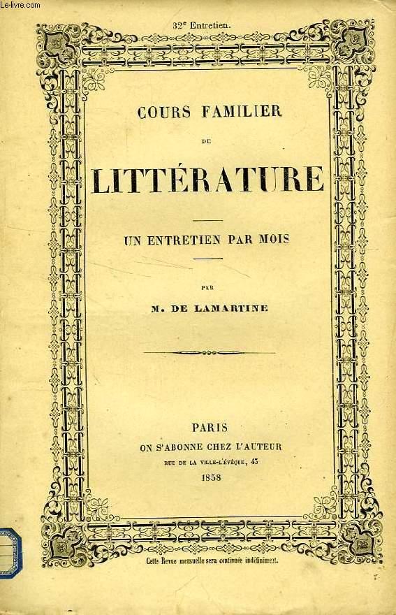 COURS FAMILIER DE LITTERATURE, XXXIIe ENTRETIEN, VIE ET OEUVRE DE PETRARQUE (2e PARTIE)