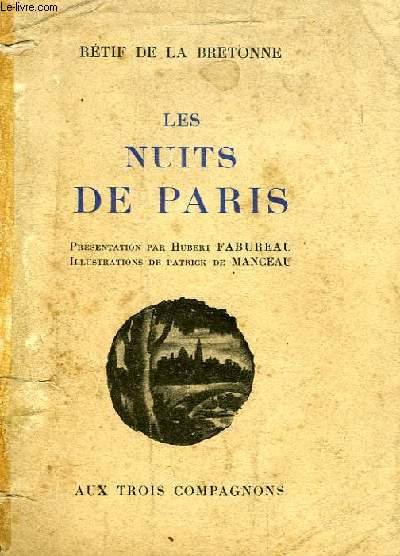LES NUITS DE PARIS, LA SEMAINE NOCTURNE, VINGT NUITS DE PARIS