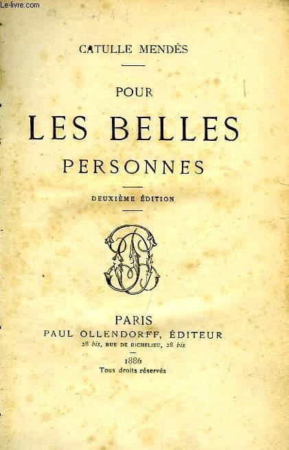 POUR LES BELLES PERSONNES