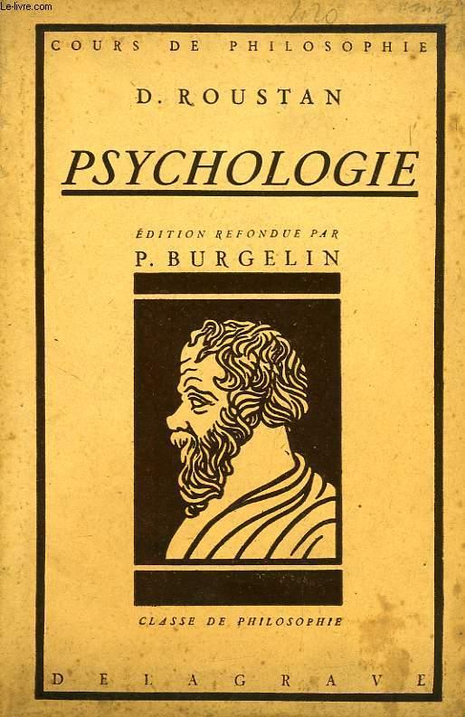 LECONS DE PHILOSOPHIE, PSYCHOLOGIE