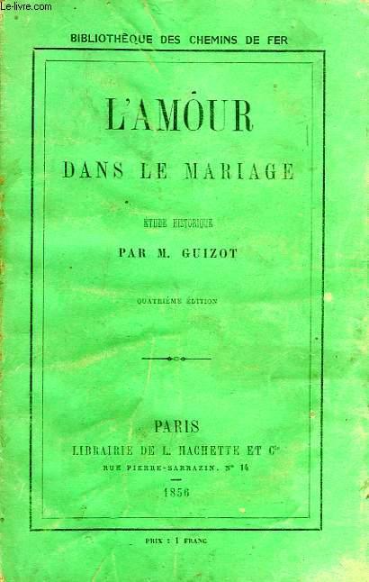 L'AMOUR DANS LE MARIAGE