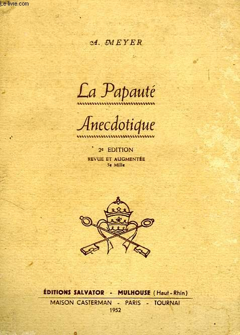 LA PAPAUTE ANECDOTIQUE