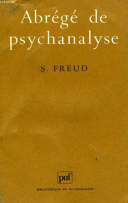 ABREGE DE PSYCHANALYSE