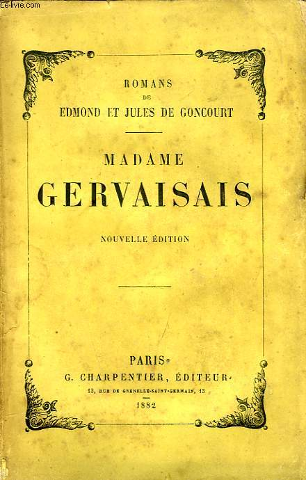 MADAME GERVAISAIS