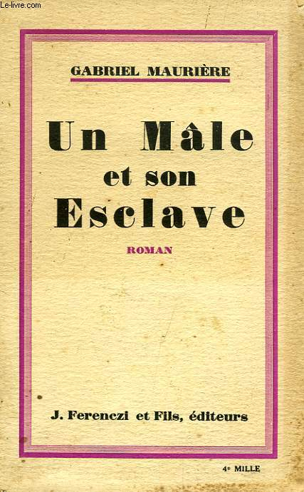 Un male et son esclave