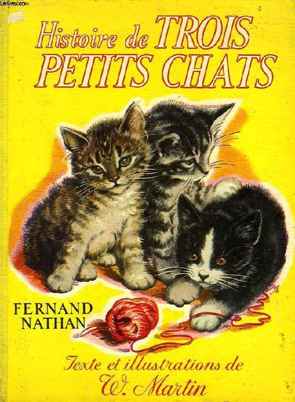 HISTOIRE DE TROIS PETITS CHATS