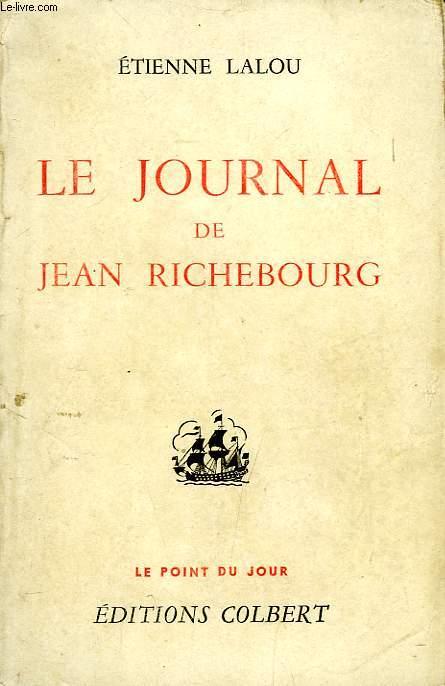 LE JOURNAL DE JEAN RICHEBOURG