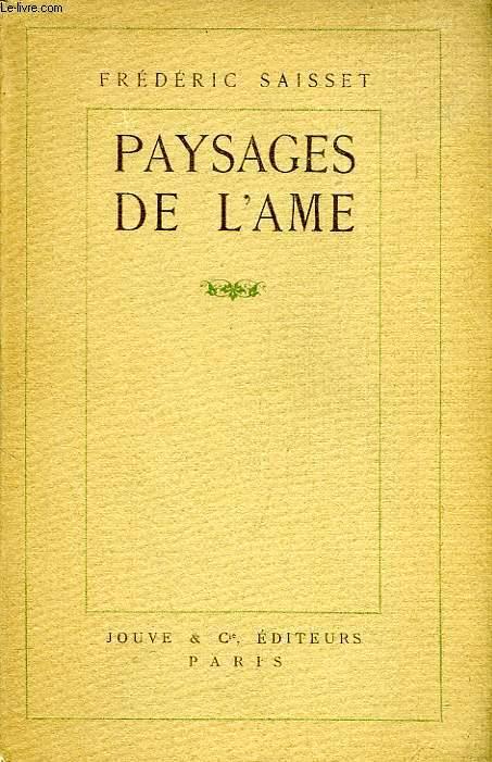 PAYSAGES DE L'AME