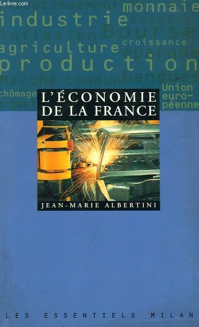 L'ECONOMIE DE LA FRANCE