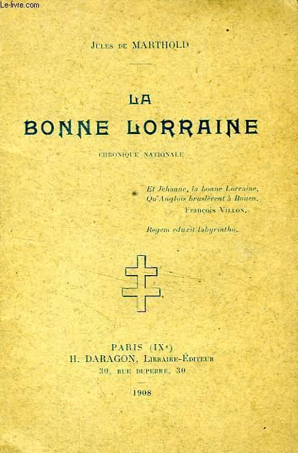LA BONNE LORRAINE