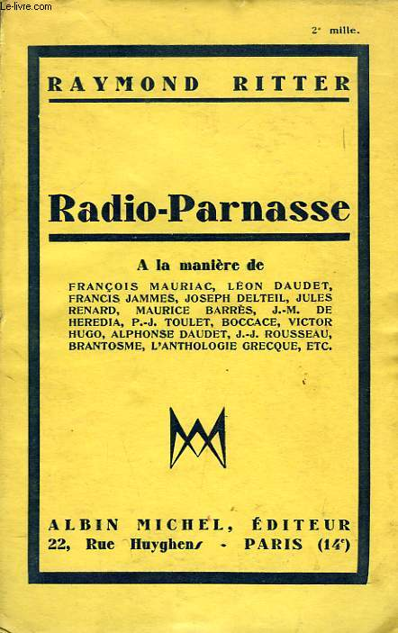 RADIO-PARNASSE