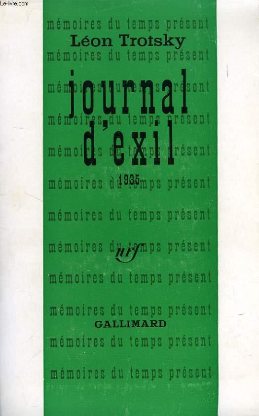 JOURNAL D'EXIL, 1935