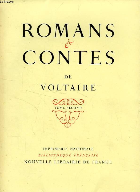 ROMANS & CONTES DE VOLTAIRE, TOME II