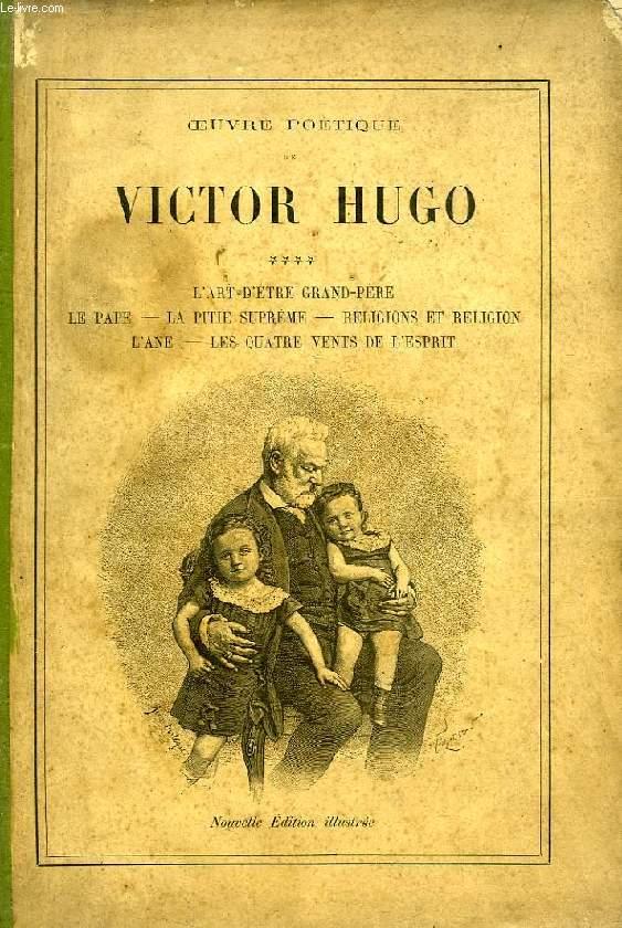 OEUVRE POETIQUE DE VICTOR HUGO