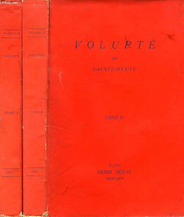 VOLUPTE, 2 TOMES