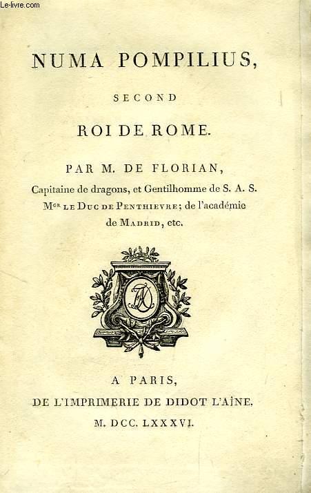 NUMA POMPILIUS, SECOND ROI DE ROME