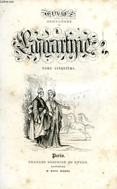 OEUVRES DE LAMARTINE, TOME V