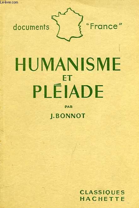 HUMANISME ET PLEIADE
