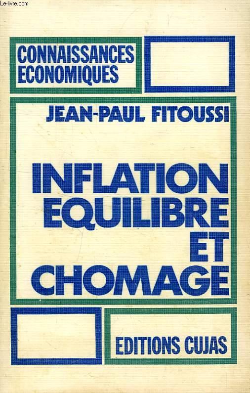 INFLATION, EQUILIBRE ET CHOMAGE