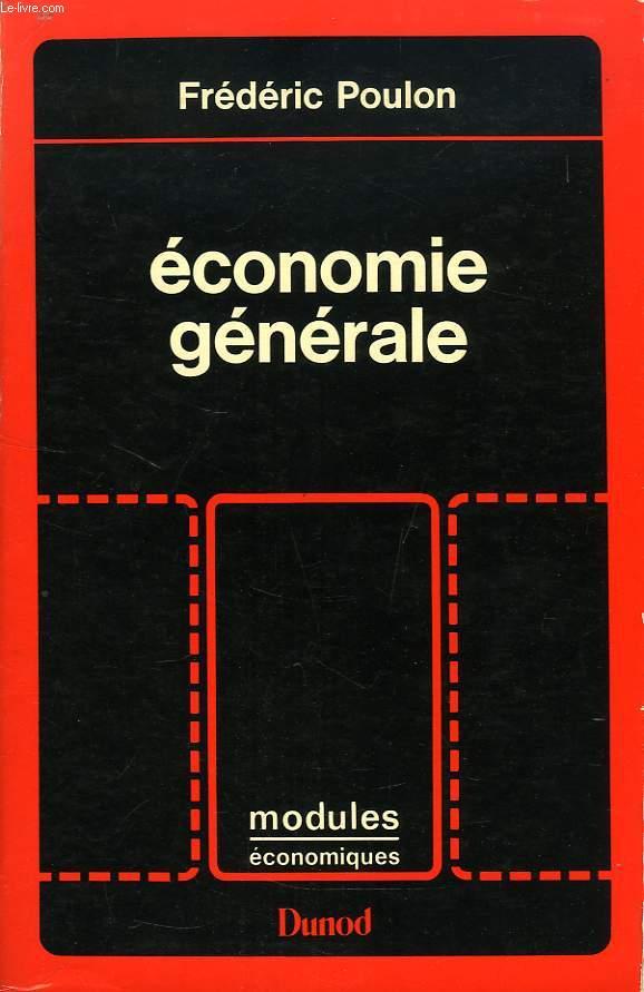 ECONOMIE GENERALE