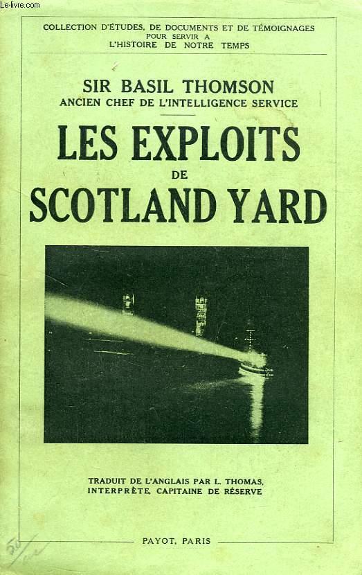 LES EXPLOITS DE SCOTLAND YARD