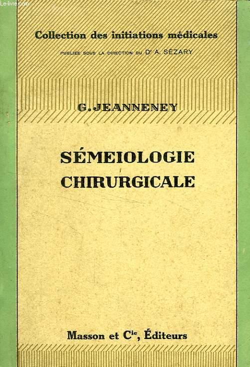 SEMEIOLOGIE CHIRURGICALE