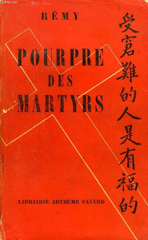 POURPRE DES MARTYRS