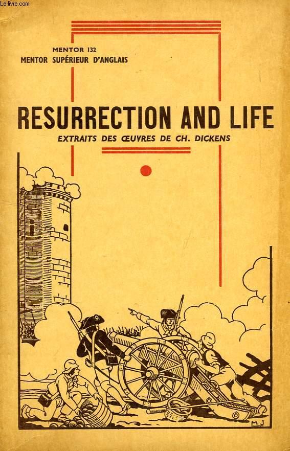 MENTOR SUPERIEUR D'ANGLAIS, RESURRECTION & LIFE (MENTOR 132)