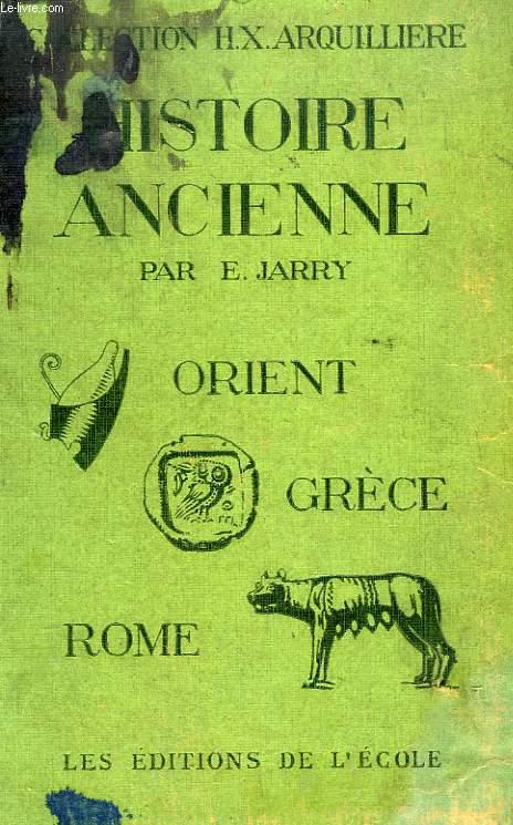 ORIENT, GRECE, ROME, CLASSE DE 6e