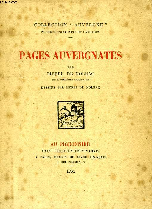 PAGES AUVERGNATES
