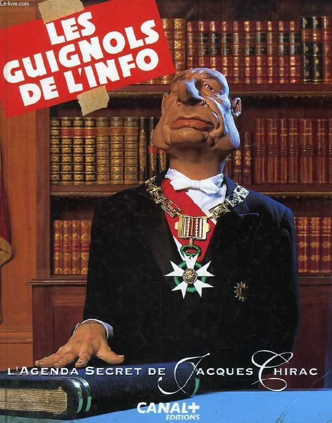 LES GUIGNOLS DE L'INFO, 1993, L'AGENDA SECRET DE JACQUES CHIRAC