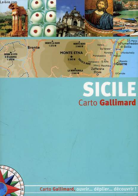 SICILE, CARTO GALLIMARD