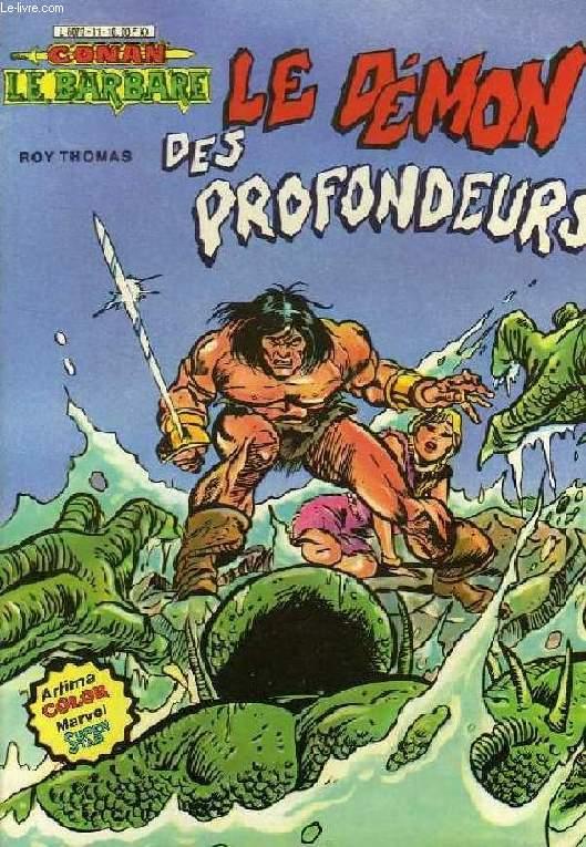 CONAN LE BARBARE, N° 11, LE DEMON DES PROFONDEURS