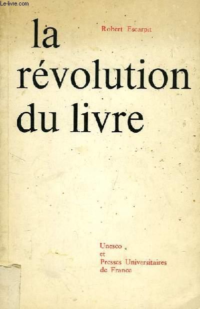 LA REVOLUTION DU LIVRE