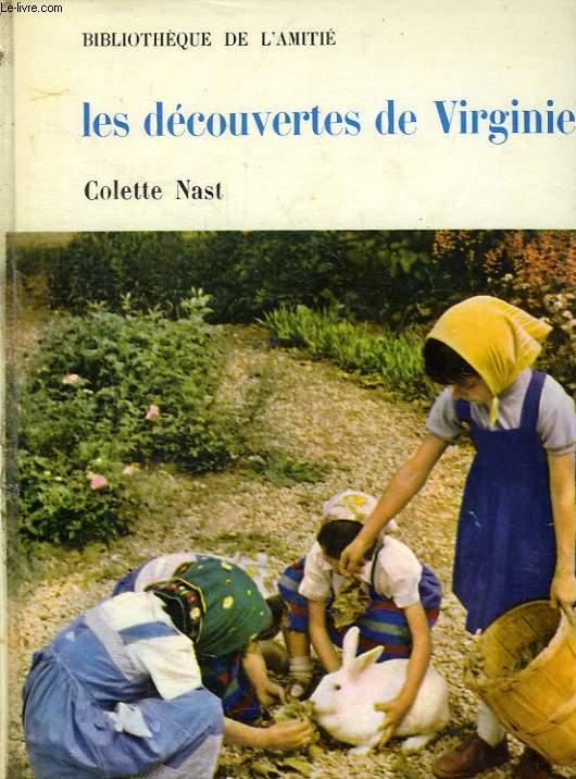 LES DECOUVERTES DE VIRGINIE