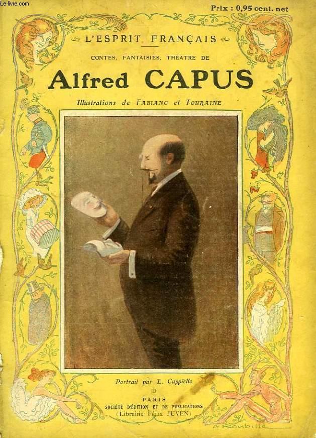 L'ESPRIT FRANCAIS, ALFRED CAPUS