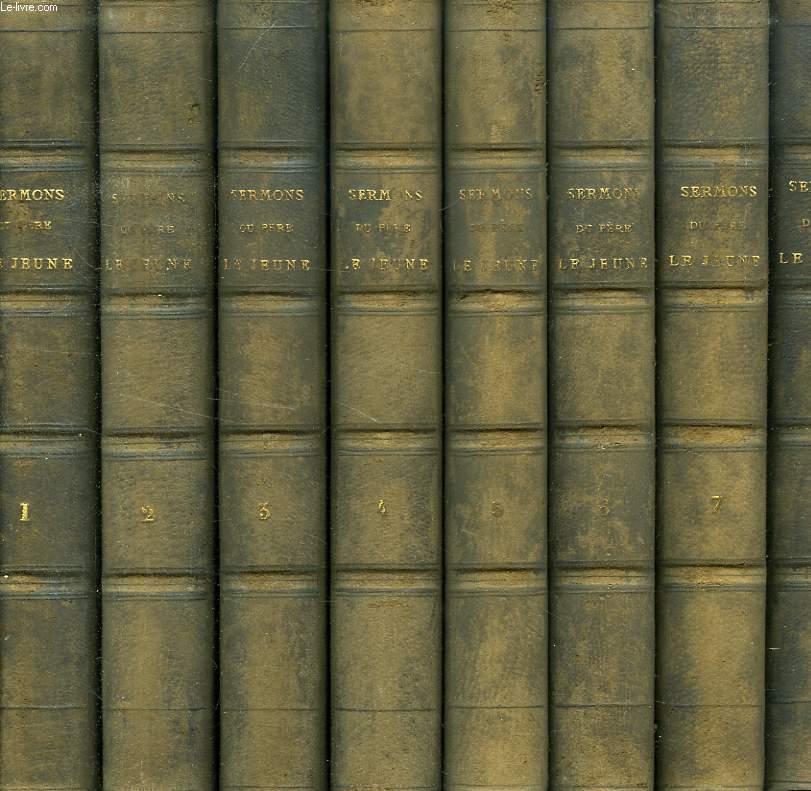 LE MISSIONNAIRE DE L'ORATOIRE, OU SERMONS POUR L'AVENT, LE CAREME ET LES FETES, ETC., 8 TOMES
