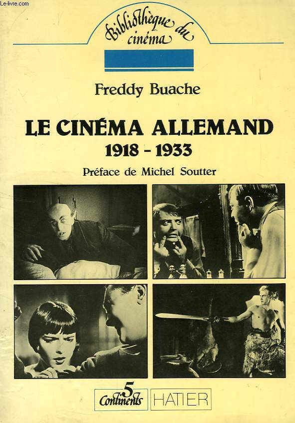 LE CINEMA ALLEMAND, 1918-1933