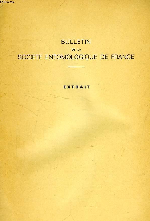 BULLETIN DE LA SOCIETE ENTOMOLOGIQUE DE FRANCE (EXTRAIT), COLEOPTERES SCARABAEOIDEA DE L'AFRIQUE DU NORD, 5e NOTE: MELOLONTHIDAE NOUVEAUX OU MECONNUS