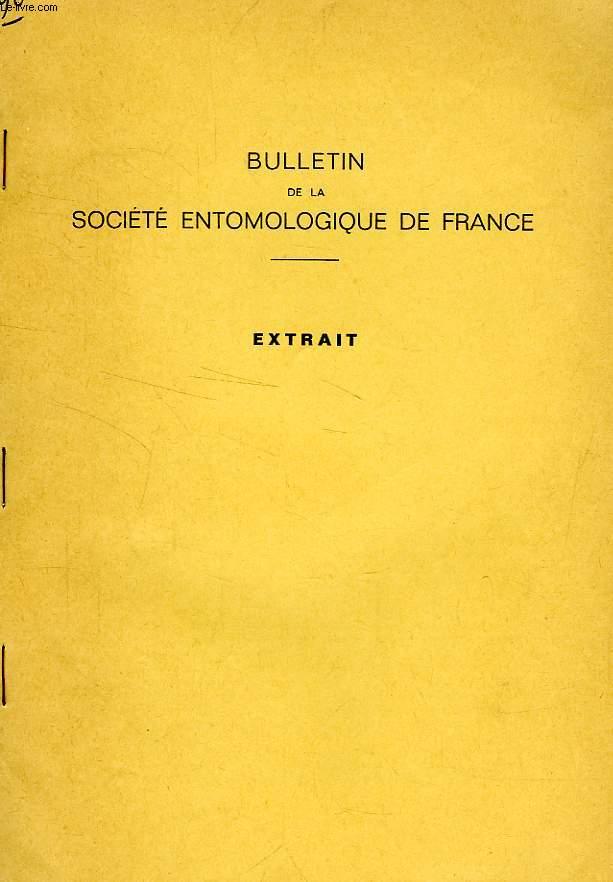 BULLETIN DE LA SOCIETE ENTOMOLOGIQUE DE FRANCE (EXTRAIT), TOME 85, MARS-AVRIL 1980, UN GENRE NOUVEAU DE SERICINAE DES FAUNES ETIOPIENNE ET PALEARCTIQUE (COL. SCARABAEOIDEA)