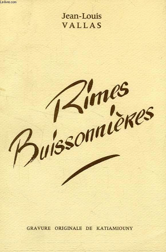 RIMES BUISSONNIERES
