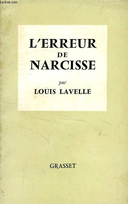 L'ERREUR DE NARCISSE