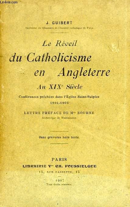 LE REVEIL DU CATHOLICISME EN ANGLETERRE AU XIXe SIECLE