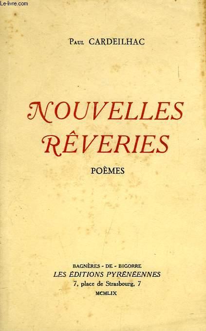 NOUVELLES REVERIES