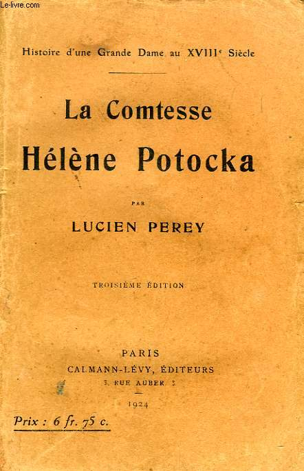LA COMTESSE HELENE POTOCKA