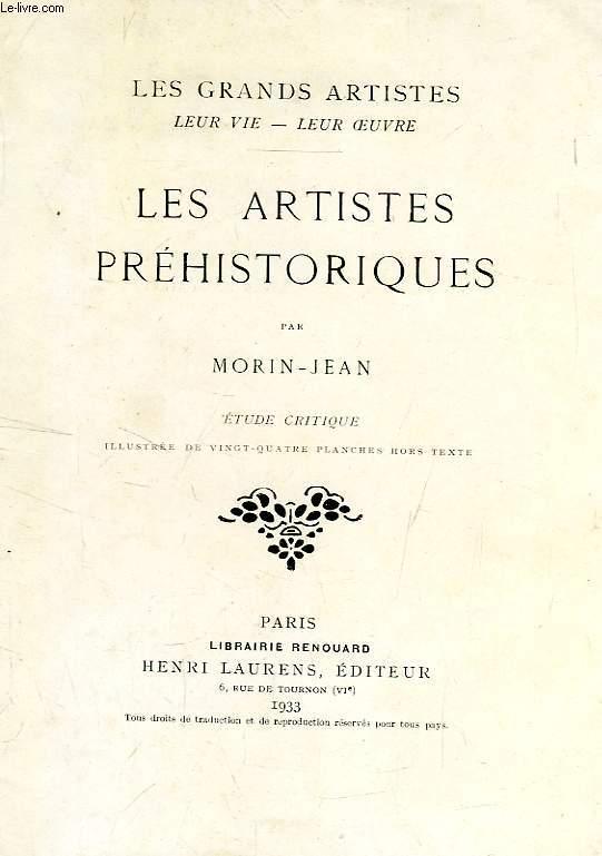 LES ARTISTES PREHISTORIQUES