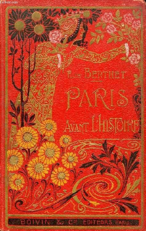 PARIS AVANT L'HISTOIRE